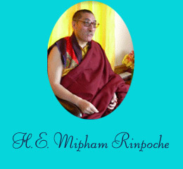 His Eminence Jamgon Mipham Rinpoche
